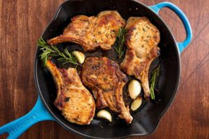 Garlic Rosemary Pork Chops